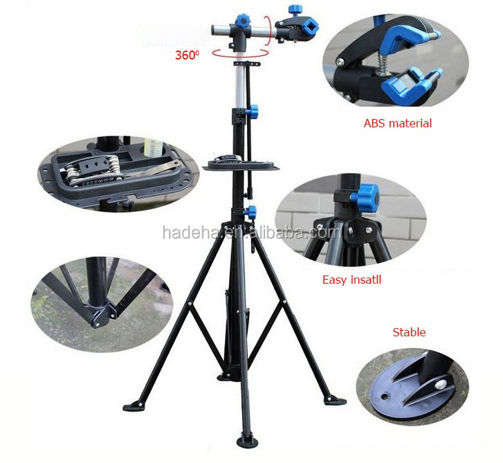 2016 Hot Sell Bicycle Steel Telescopic Arm Cycle Work Stand