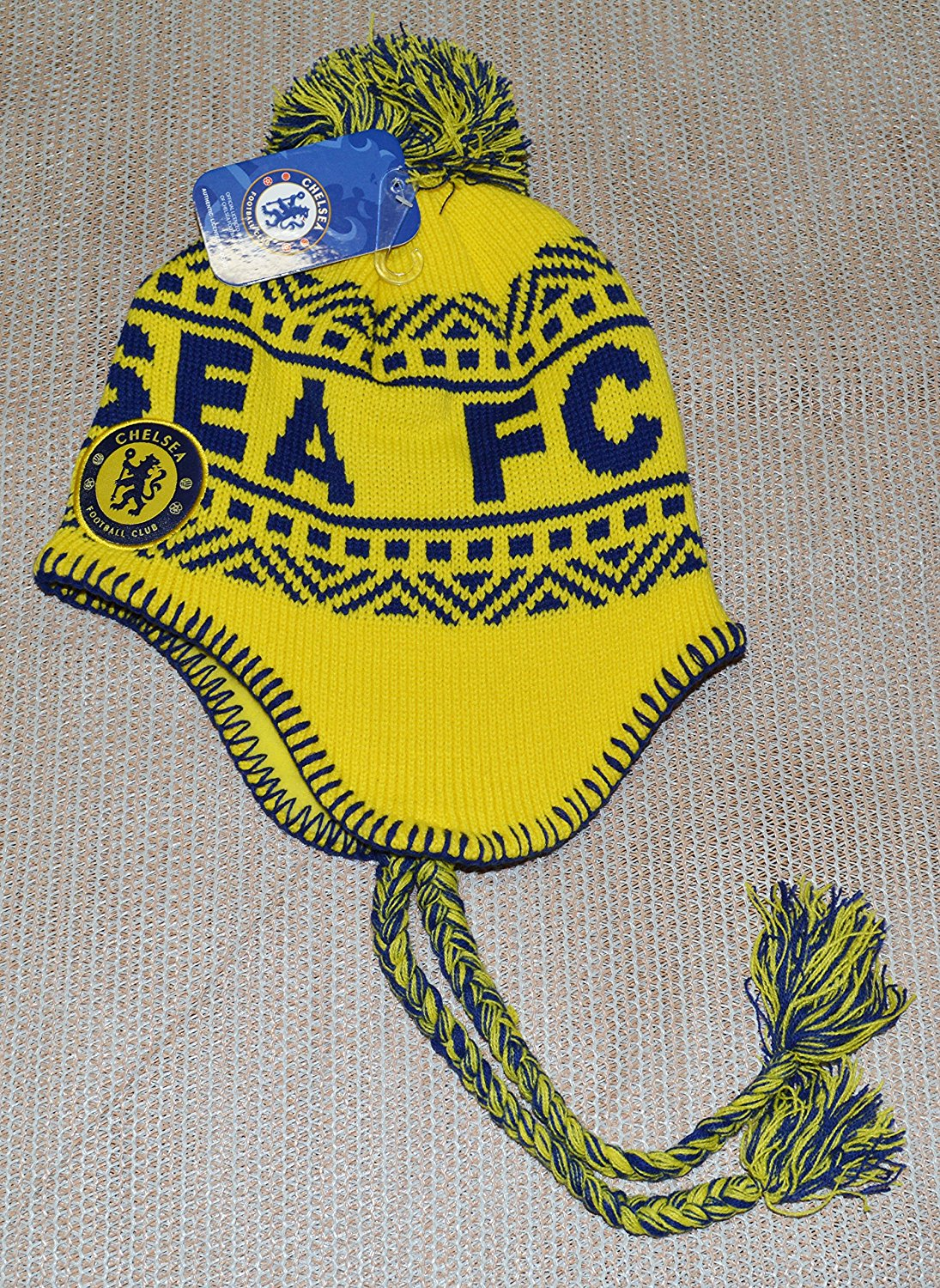 f8b570200 Buy Club America Peruvian Soccer Blue Beanie Ski Hat in Cheap Price ...