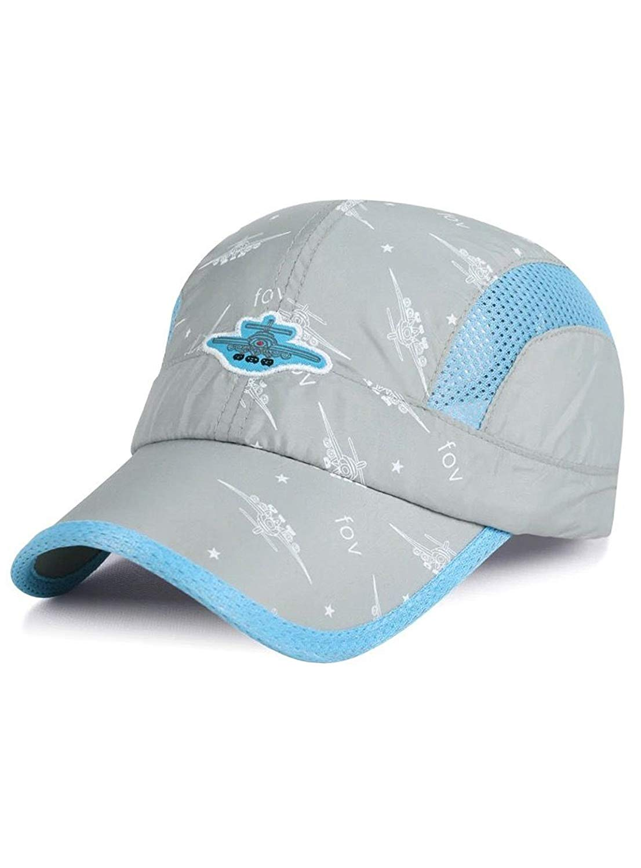 3984f2c9037 MZLIU Kids Boys Girls Sun Hat Light Weight Quick Drying Mesh Hat Baseball  Cap