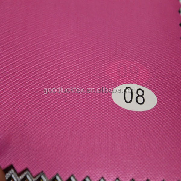 210D polyester milky pu coating waterproof oxford fabric