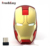 unique design hotsale gold Iron man magic optical wireless mouse corporate gift mouse for kids