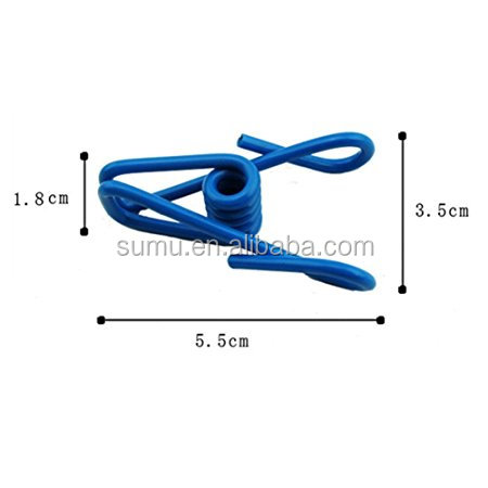 Manufacturer Wholesale Custom Personalized Binder Clips/ Paper Clip With Custom Logo