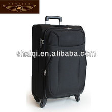 four wheels durable polyester valise