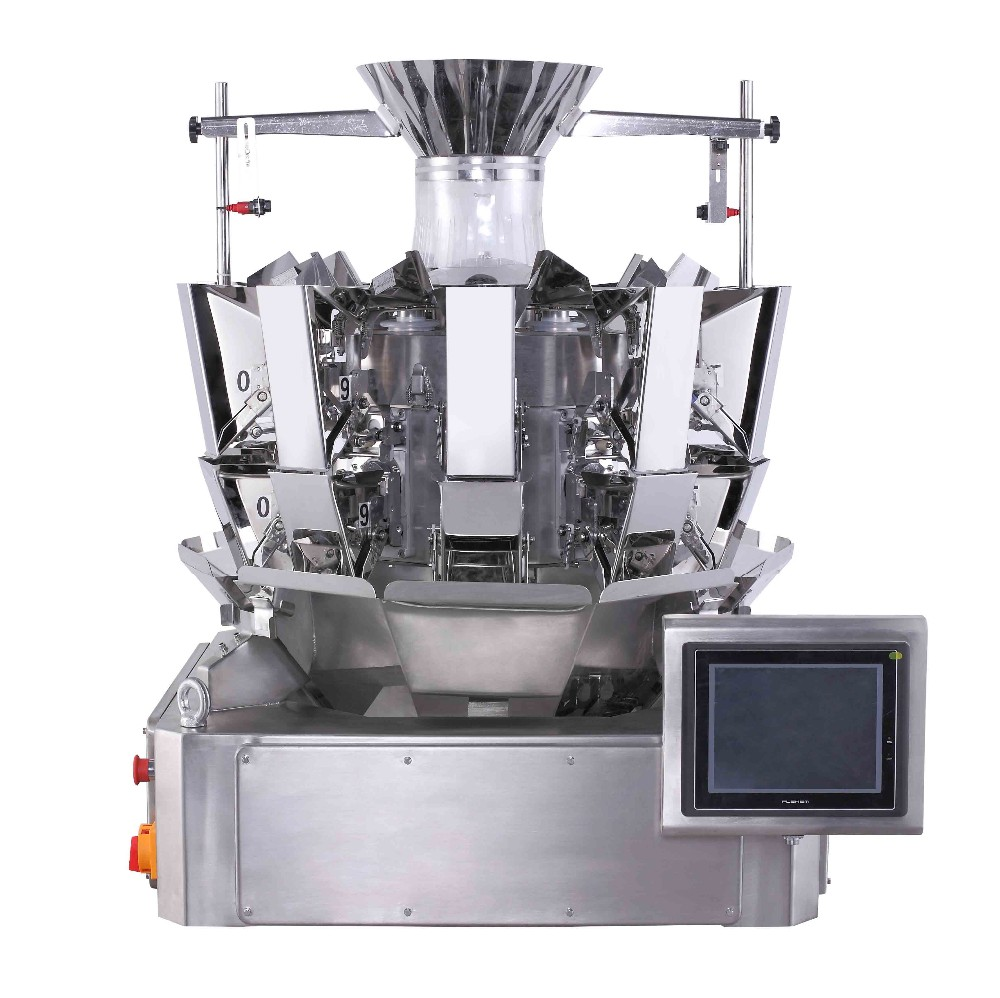 Automatic 10 heads 0.8L mini scale multihead weigher JY-S10