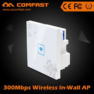 Best Buy 2.4Ghz DDR32MB COMFAST CF-E520N In Wall AP/In Wall Wireless Access Point