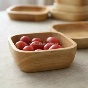 2 pcs beech wood bowl