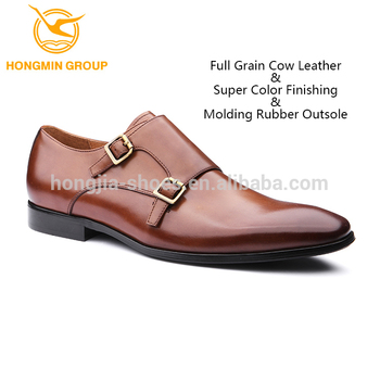 e0cf96ba1a High class double monk strap genuine leather shoes , 2019 top quality new  style men dress