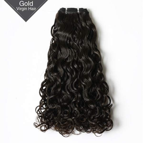 VV Qingdao Factory Natural Aliexpress Machine Malaysian Virgin Human Hair Weft Keratin Curly Hair Extensions