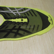 High covering power 3D effect rubber ink for shoes with good washing ability