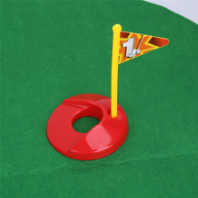 Grappige Toilet Mini <span class=keywords><strong>Golf</strong></span> <span class=keywords><strong>Mat</strong></span> Set Potje Putter Putting Game mannen Speelgoed Novelty Gift