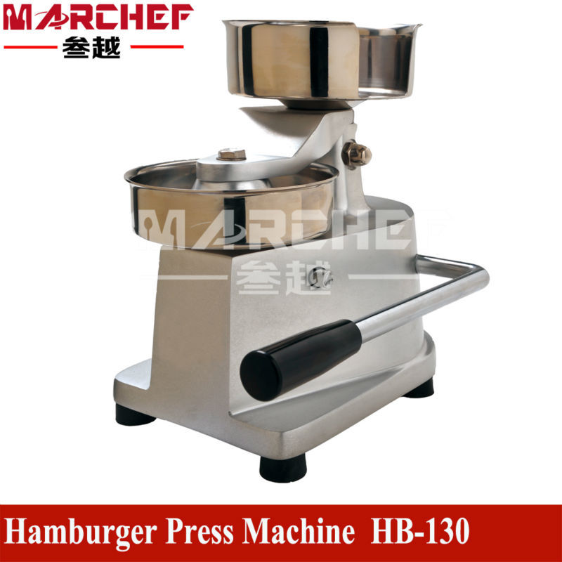 130MM Commercial Hamburger Press Machine_ Hamburger Maker_Manual Hamburger Machine