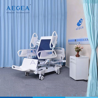 AG-BR001eight function luxurious 36 months warranty Linak motorized ICU electric recliner bed