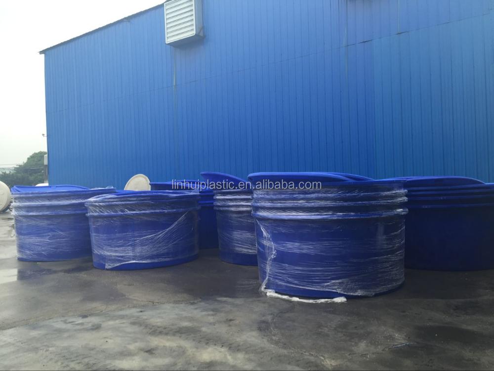 Polyethylene nestable water tanks fish farm buy water for Fish farm tanks