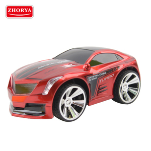 Zhorya kids plastic rechargeable battery-powered watch voice activated command small wired remote control toy car