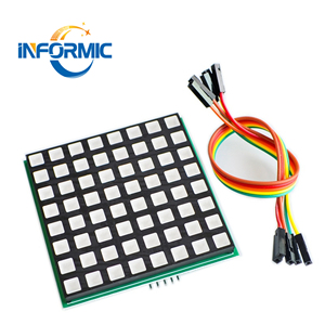 LED full color 8x8 dot matrix module for Raspberry Pi 3/2 B+