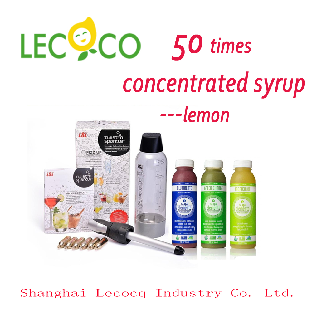 Leco hot sale shelf time for 18 months 50 times concentrated syrup drinking vinegar recipe
