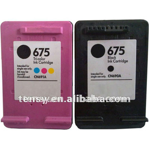 black and color printer inkjet cartridge cartouche encre 62 compatible 62  cartridge