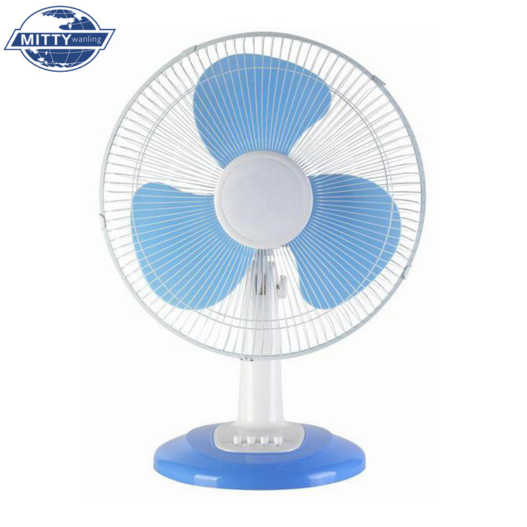 "Low Power Consumption 3 Speed 40W 16"" Electric Table Fan"