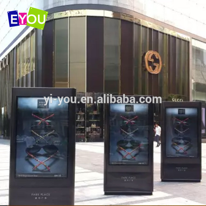 Outdoor LED advertising scrolling light box for low price