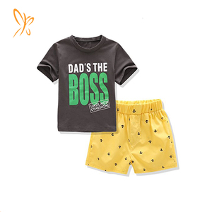 Kids Boys Shorts Set Outfits for 1 to 5 Age Baby