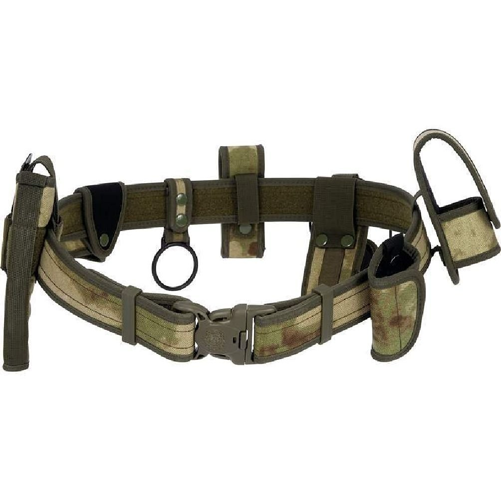 "50"" Adjustable Camo Tactical Belt Holster Magazine Pouch Combat Duty Police"