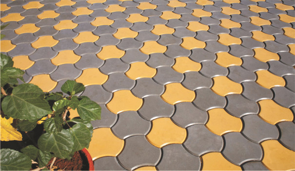 Plastic Paver Mold For Making Paving Stones Of Your Garden Kurb Stone  Concrete Brick And Tiles