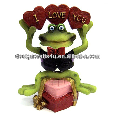 Green Frog Figurine for Mother's Day Gift