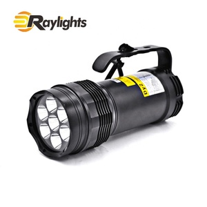 Professional most powerful led diving flashlight 5000 lumens scuba diving set diving light