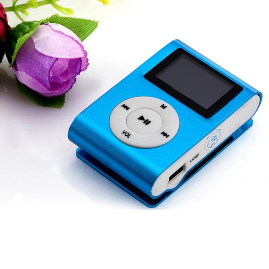 Factory Price LCD Screen Mini Clip Mp3 Player Electronic