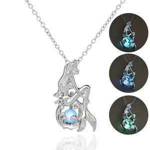 Fashion hot glowing necklace for halloween gifts wholesale N80965