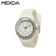 Back to School Geneva Platinum Ladies' quartz Silicone Watch ice watches
