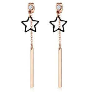Women Accessories 2017 Holiday Decoration Fashion Star Korean Earrings