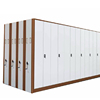 Mobile Office Cabinet,warehouse File Systems Die & Mold Large Storage Hand Push Manual Multi Bay Space Storage System