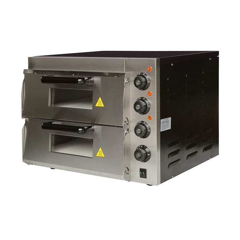 2 decks 2 trays baking bread gas oven bakery machine industrial ovens for baking