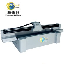 Large format digital led uv flatbed printer with factory price for ceramic
