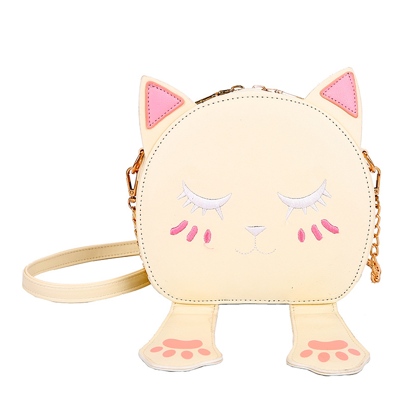 new style cute lovely Ready to ship lady Bag cartoon cat Women creative fashion Handbags with cat ear