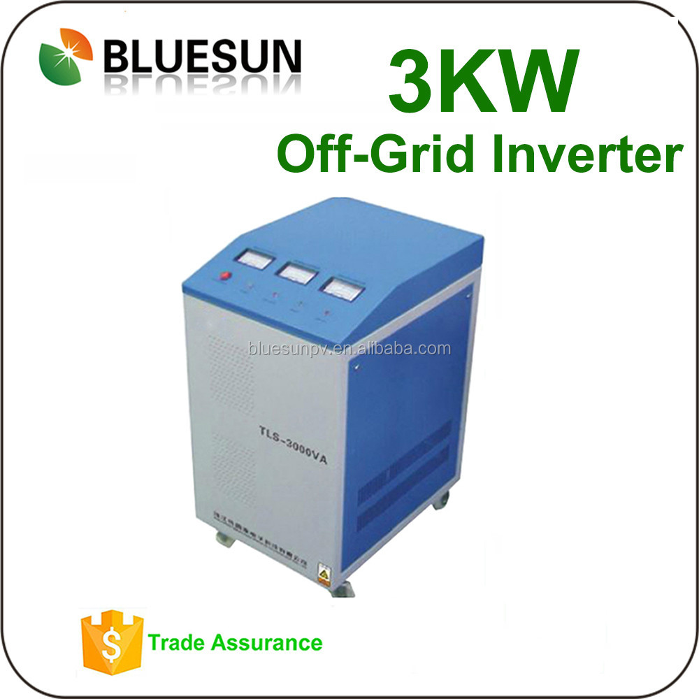 3000W off grid solar inverter 3kw 2KW 1KW 24V 48V Dc to AC 220V signal phase for solar system