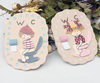 small cute decorations tags / name tags