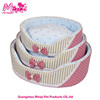 New Bowknot design dog bed insulated dog house fabric pet bed cute S M L bed dog