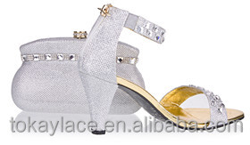 bag for matching party italian with design shoe Silver gqXwzax