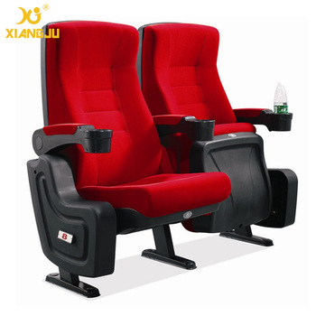 Rocking Back Cinema Seats Chair 4d, Concert Hall Chair With Cup Holder