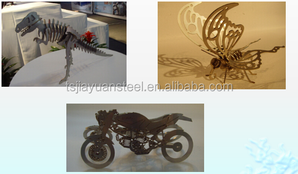 Steel and iron product handicraft /cutting prarts