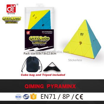 Qiyi Qiming Pyramid S magic puzzle cube christmas gift