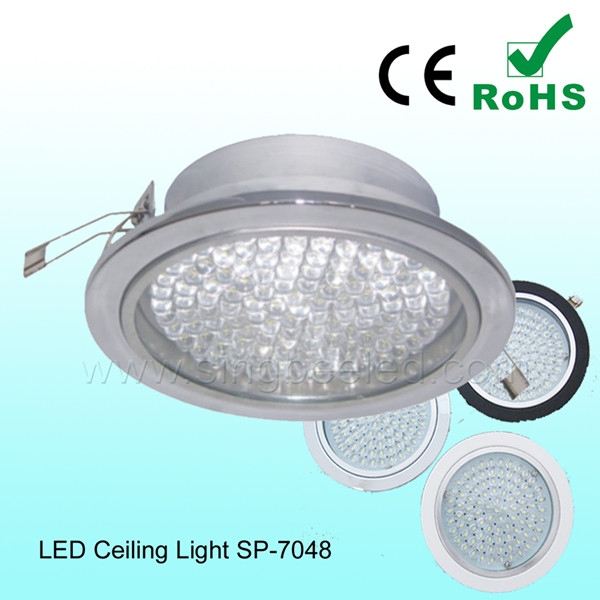 High efficiency Embeded LED Ceiling Light Low power with CE&ROHS
