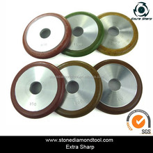 4 Inch 100mm Fluting wheel Resin Grinding Wheels for Grooving Sink