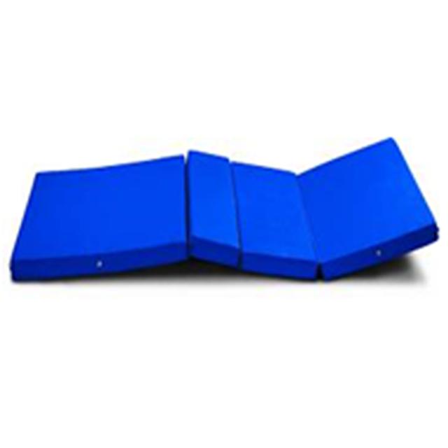 Toptan tıbbi hastane kum yatak köpük şilte ile mavi renk