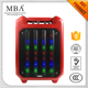MBA portable Active Bluetooth Speaker with LED Flashing Lights,bluetooth speaker