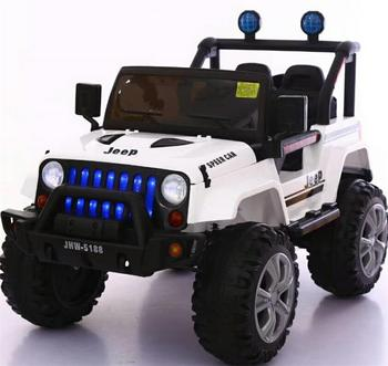 High Quality Remote Control Two Searer Electric Car Toy Kids Jeep