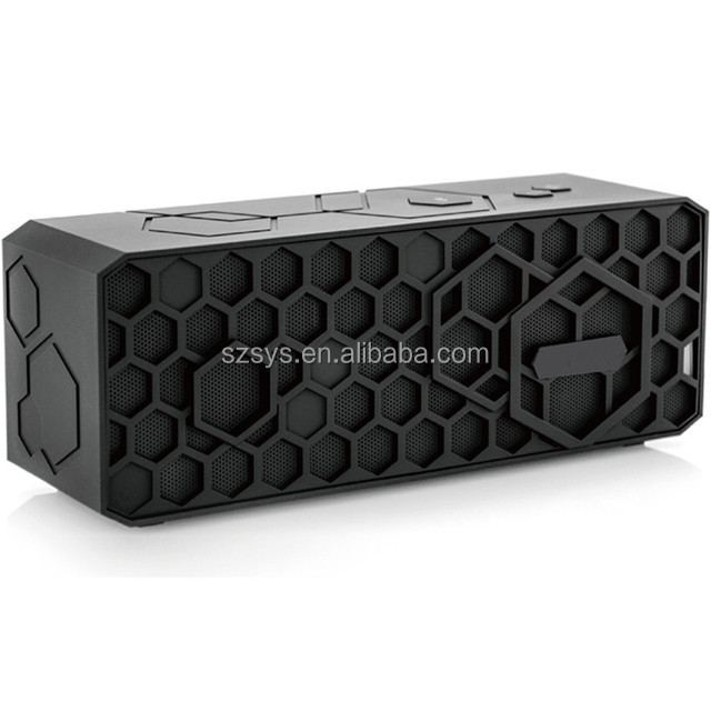 Portable Shockproof Bluetooth Outdoor Soundbar Rechargeable Wireless Stereo Speaker For SmartPhone Tablet