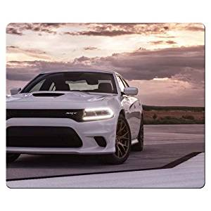 Cloth And Rubber Mousepads Accurate Heat-resistant Dodge 26x21cm 10x8inch